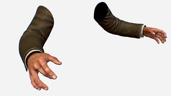 Bill_hand_coat - 3DOcean Item for Sale