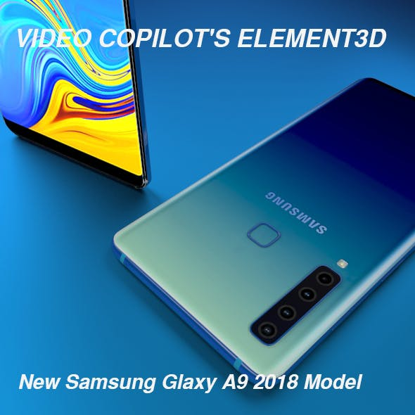 Samsung A9 Glaxy Element3D - 3DOcean Item for Sale