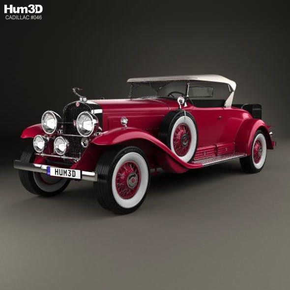 Cadillac V-16 Roadster 1930 - 3DOcean Item for Sale