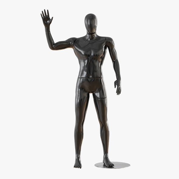 Abstract male mannequin 14 - 3DOcean Item for Sale