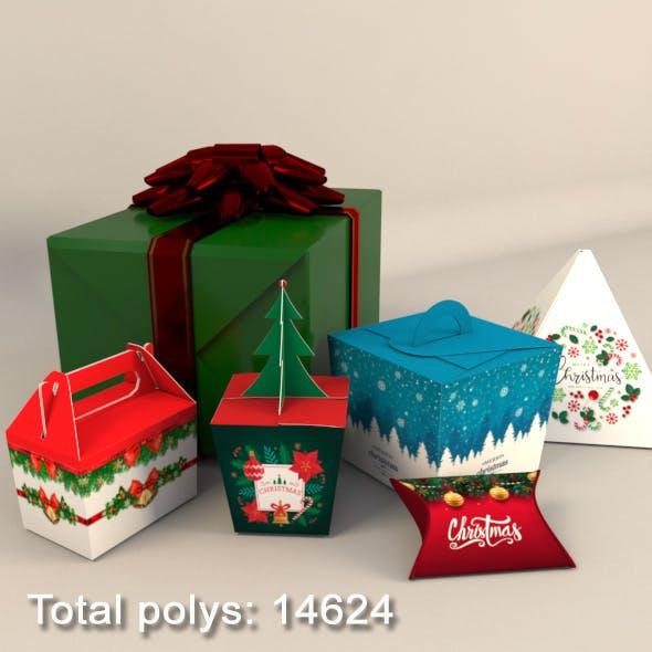 Gift Christmas Boxes