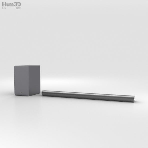 LG SJ6 Soundbar