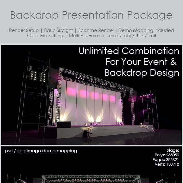 Backdrop Presentation Package