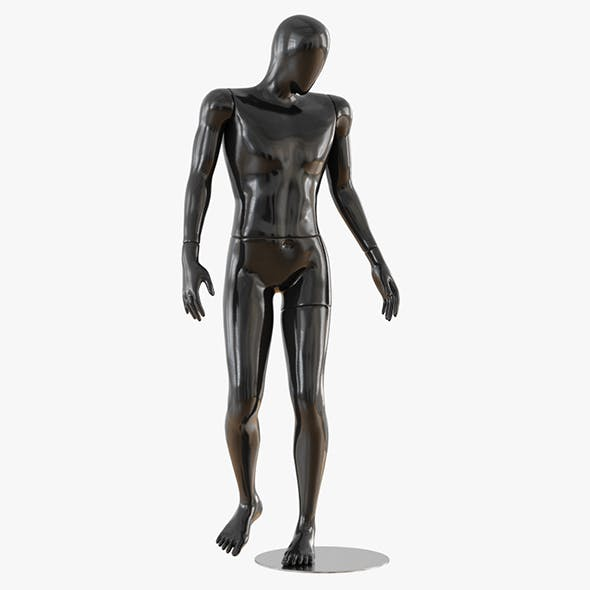 Abstract male mannequin 15 - 3DOcean Item for Sale