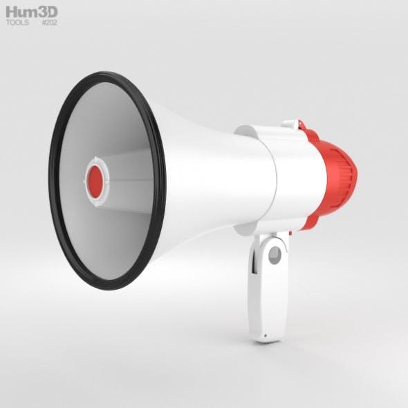Megaphone - 3DOcean Item for Sale