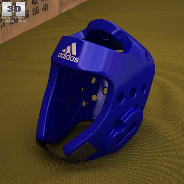 Adidas Taekwondo Head Gear - 3DOcean Item for Sale