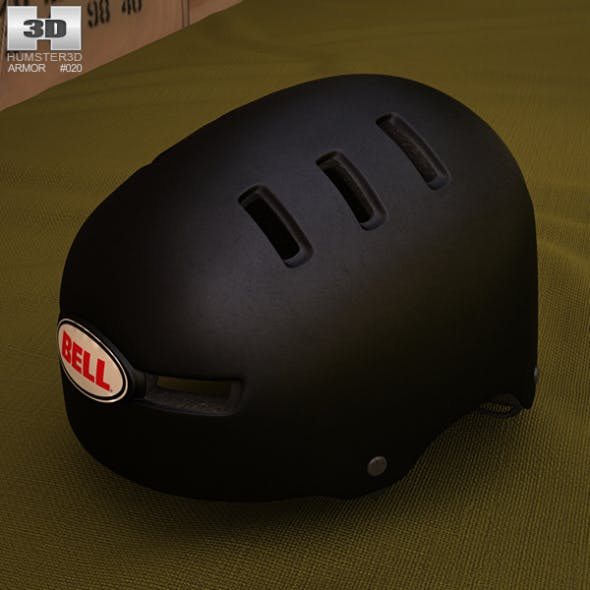 Bell Faction Sport Helmet - 3DOcean Item for Sale