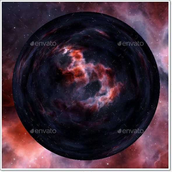 Nebula Space Environment HDRI Map 023
