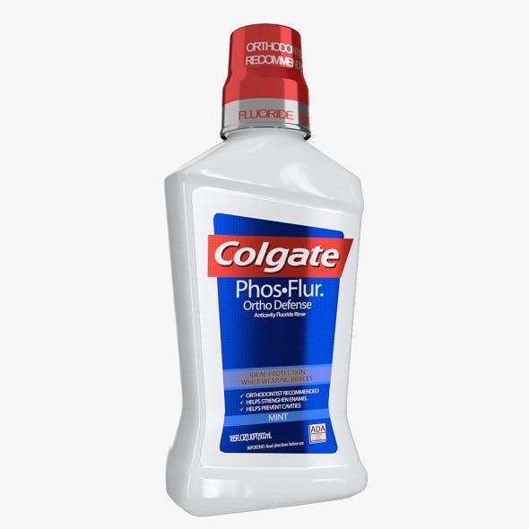 Colgate Mouthwash Bottle - 3DOcean Item for Sale
