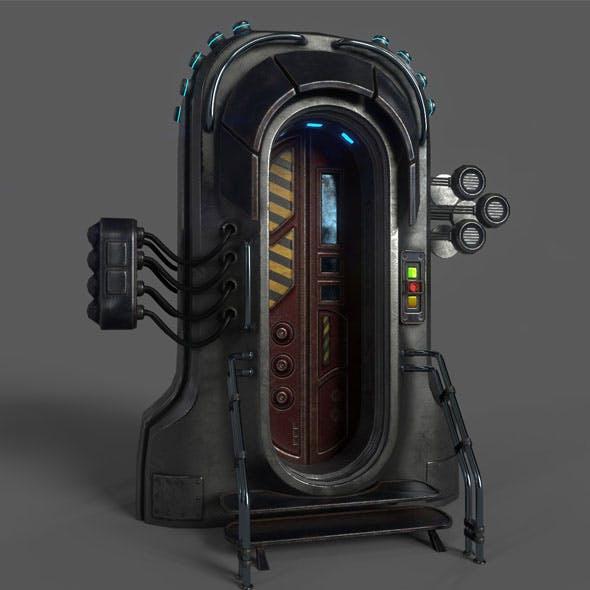 Sci-Fi Door 05