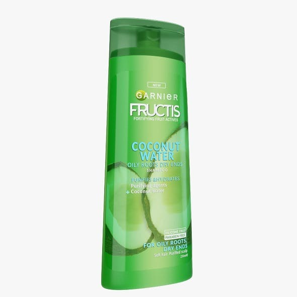 Garnier Shampoo Bottle