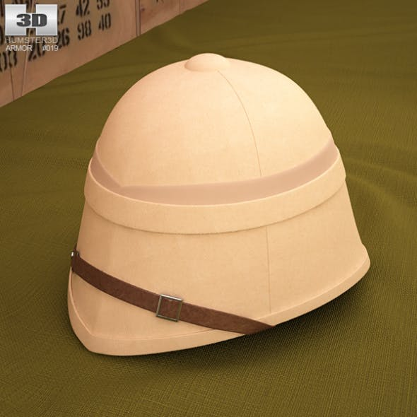Pith Helmet - 3DOcean Item for Sale