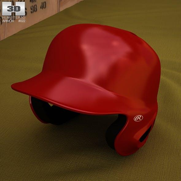 Baseball Batting Helmet - 3DOcean Item for Sale