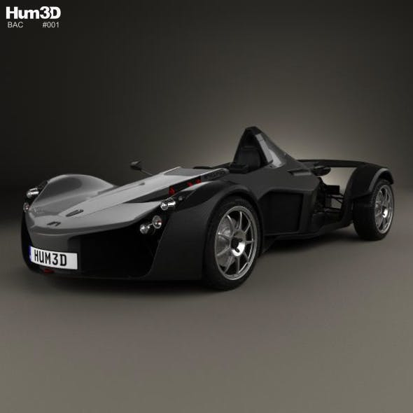 BAC Mono 2017 - 3DOcean Item for Sale