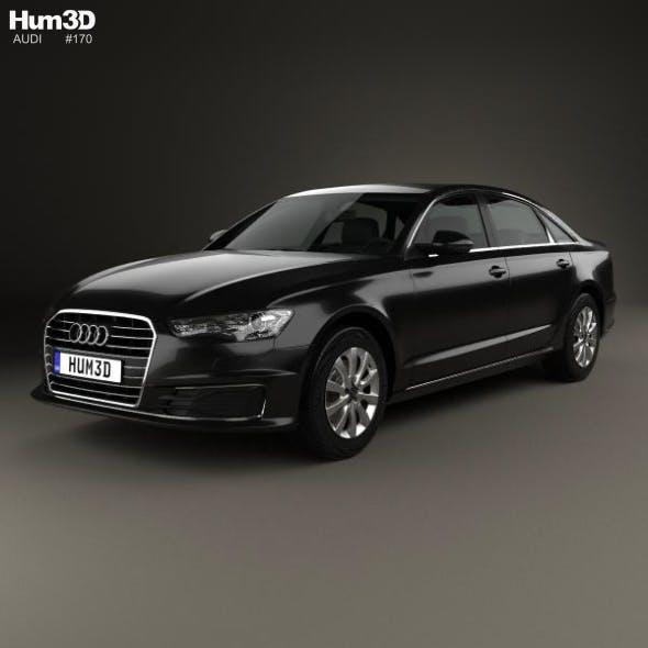 Audi A6 L (C7) saloon (CN) 2017