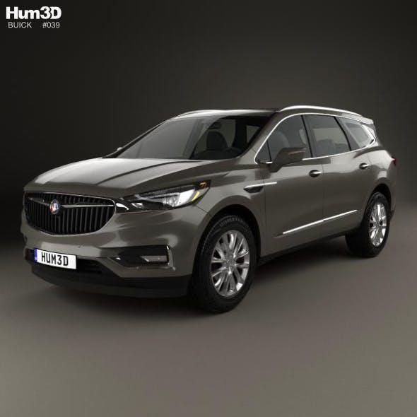 Buick Enclave 2017 - 3DOcean Item for Sale