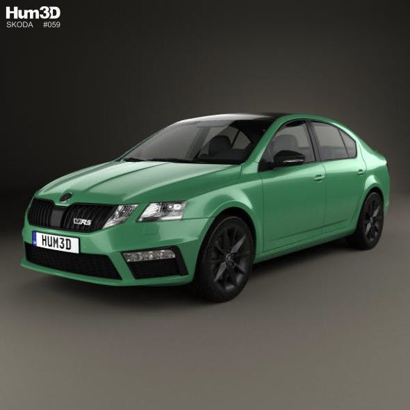 Skoda Octavia RS liftback 2017