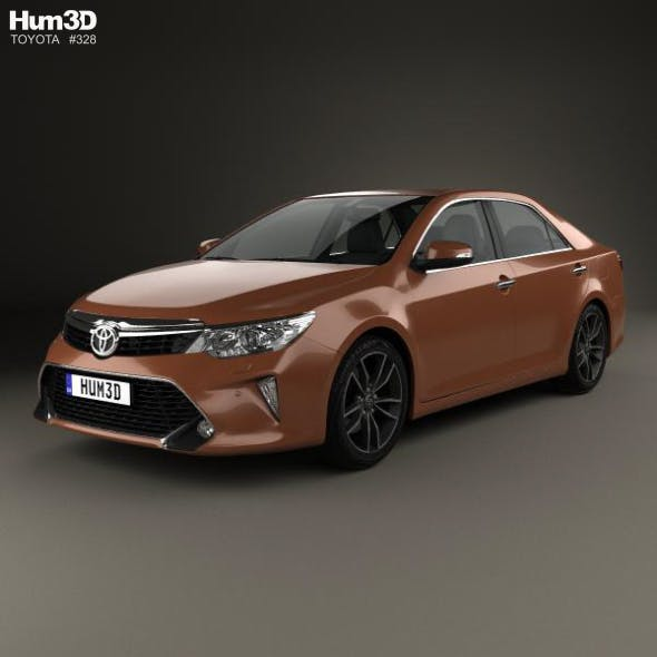 Toyota Camry (CIS) 2017 - 3DOcean Item for Sale