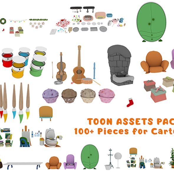 Cartoon Assets Pack