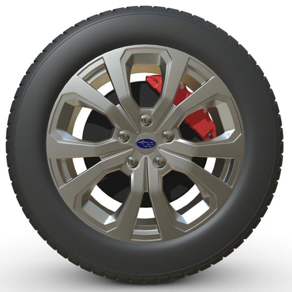 Subaru Forester wheel - 3DOcean Item for Sale