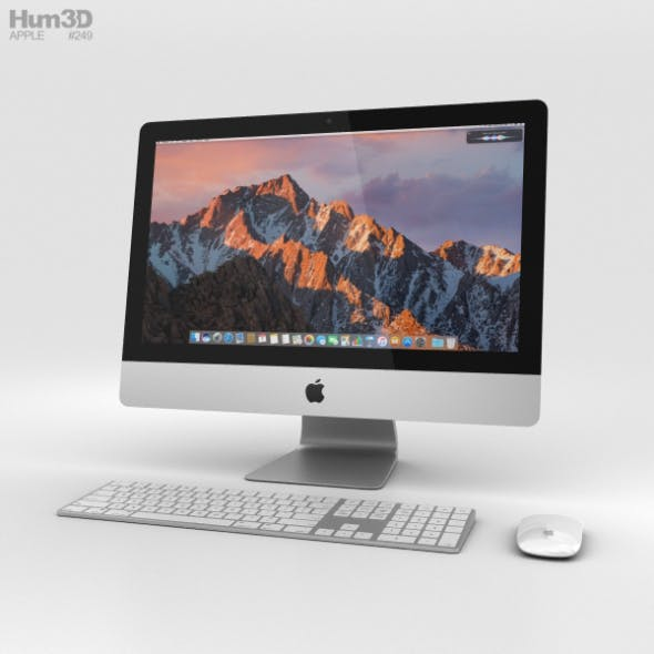 Apple iMac 21.5-inch (2017) - 3DOcean Item for Sale