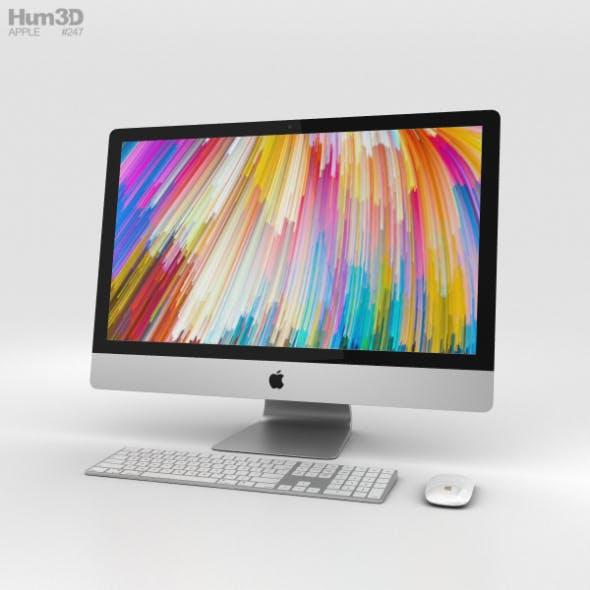 Apple iMac 27-inch (2017) - 3DOcean Item for Sale