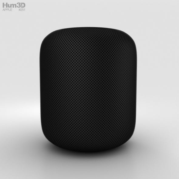 Apple HomePod Black - 3DOcean Item for Sale