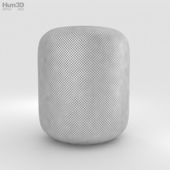 Apple HomePod White - 3DOcean Item for Sale
