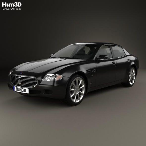 Maserati Quattroporte 2004 - 3DOcean Item for Sale
