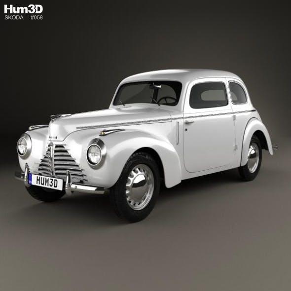 Skoda 1101 (Type 938) Tudor 1946