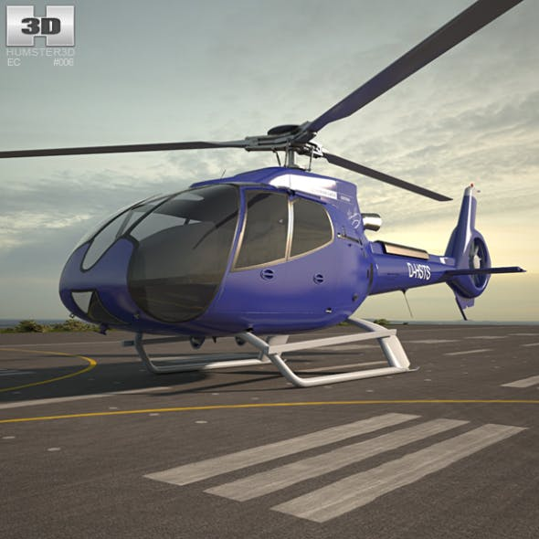 Eurocopter EC130 - 3DOcean Item for Sale