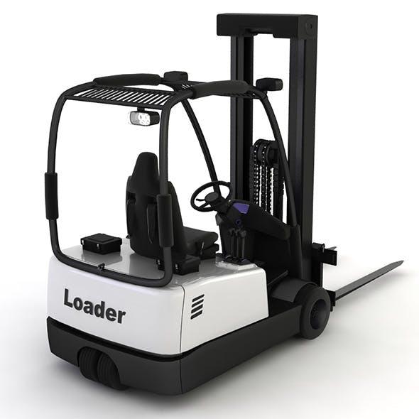 Loader Front - 3DOcean Item for Sale