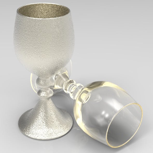 Conical Stem Wine Glass