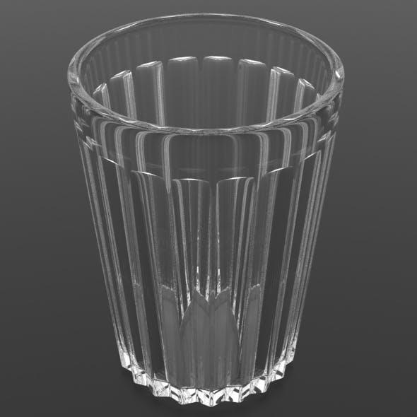 Soviet Era Russian Twenty Facet Stopka Vodka Glass - 3DOcean Item for Sale