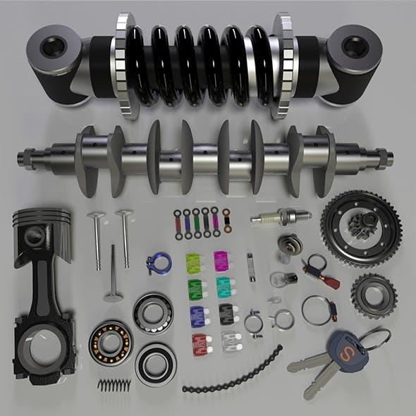 Parts - 3DOcean Item for Sale