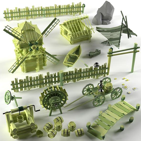 Landscape - 3DOcean Item for Sale