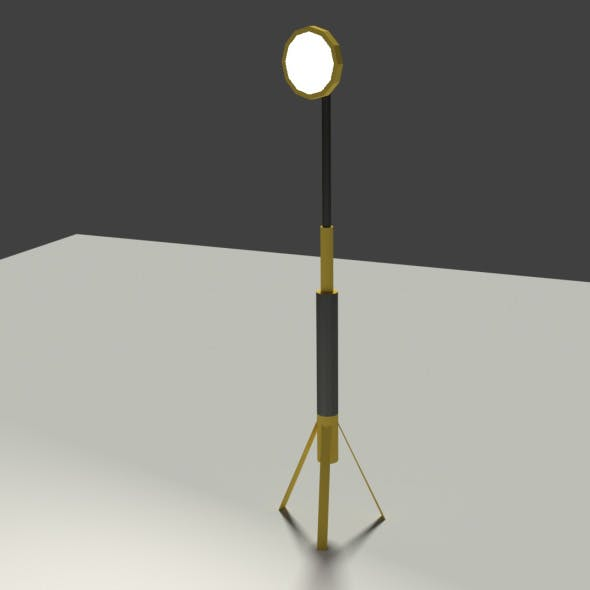 Low Poly Industrial Light