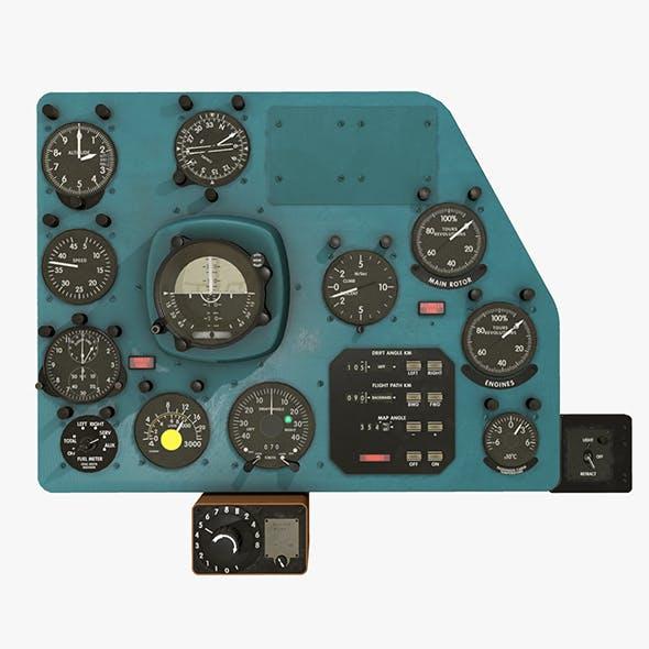Mi-8MT Mi-17MT Right Panels Board English