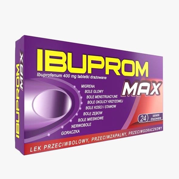 Ibuprom Drug - 3DOcean Item for Sale