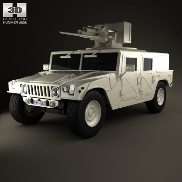 Hummer M242 Bushmaster 2011