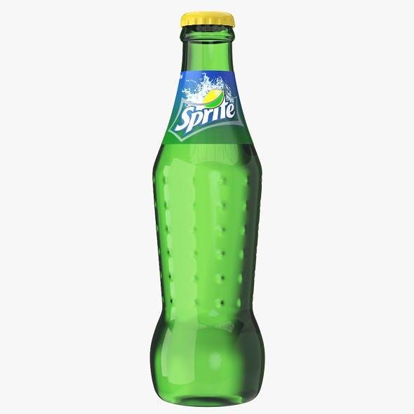 Sprite Drink Glass Bottle - 3DOcean Item for Sale