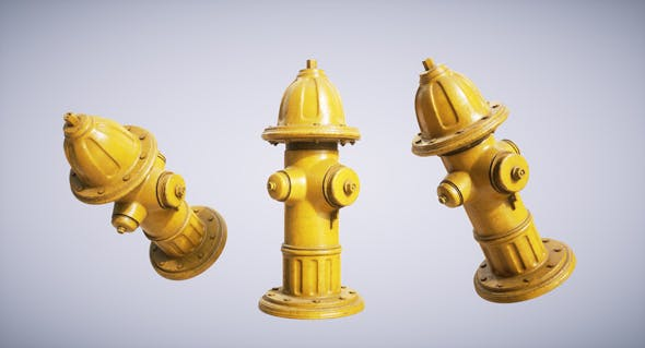 Hydrant - 3DOcean Item for Sale