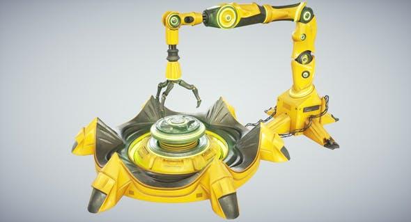 Sci fi Industrial Robot - 3DOcean Item for Sale