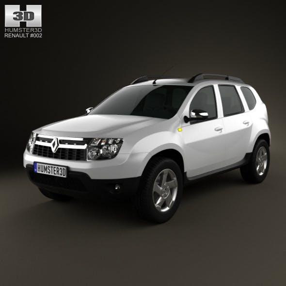 Renault Duster 2011 - 3DOcean Item for Sale
