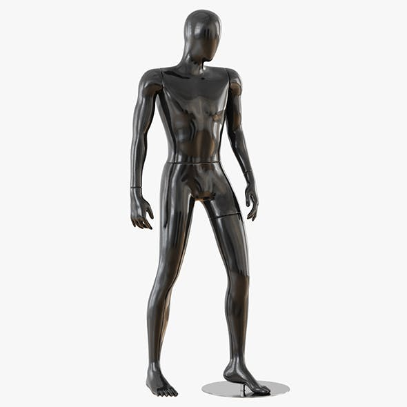 Faceless male mannequin 19 - 3DOcean Item for Sale