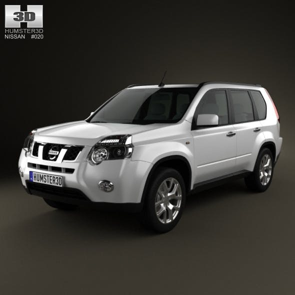 Nissan X-Trail 2011 - 3DOcean Item for Sale