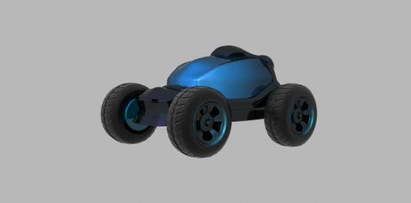 Blast Vehicle - 3DOcean Item for Sale