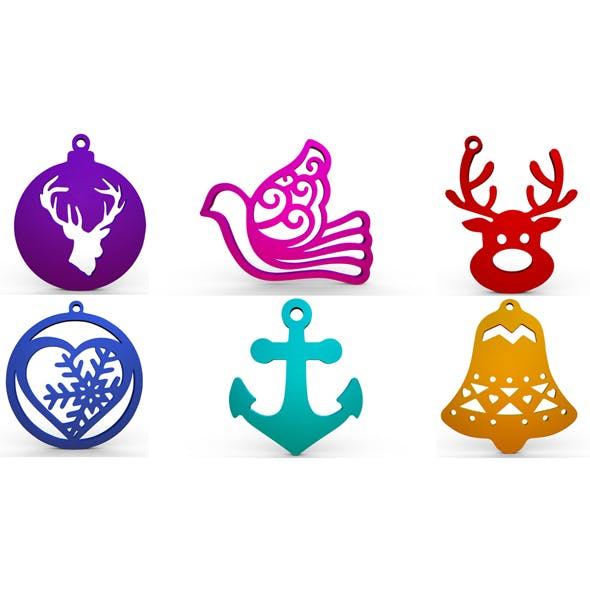Christmas decoration - 3DOcean Item for Sale