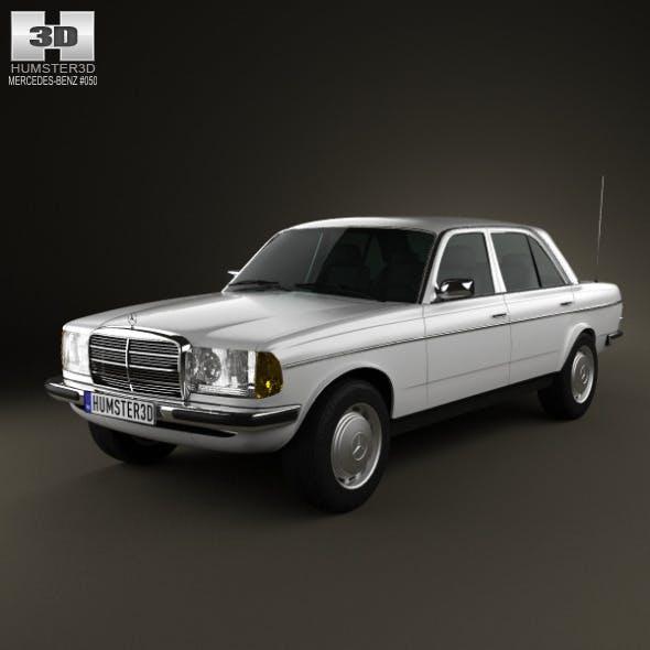 Mercedes-Benz W123 sedan 1975 - 3DOcean Item for Sale