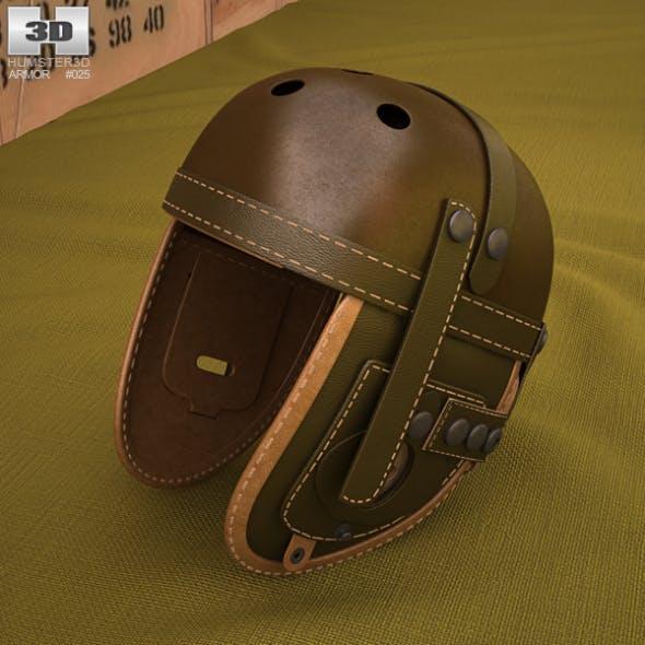 WW2 US M38 Tankers Helmet - 3DOcean Item for Sale